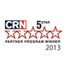 2013 CRN 5-Star Partner Program Guide Winner